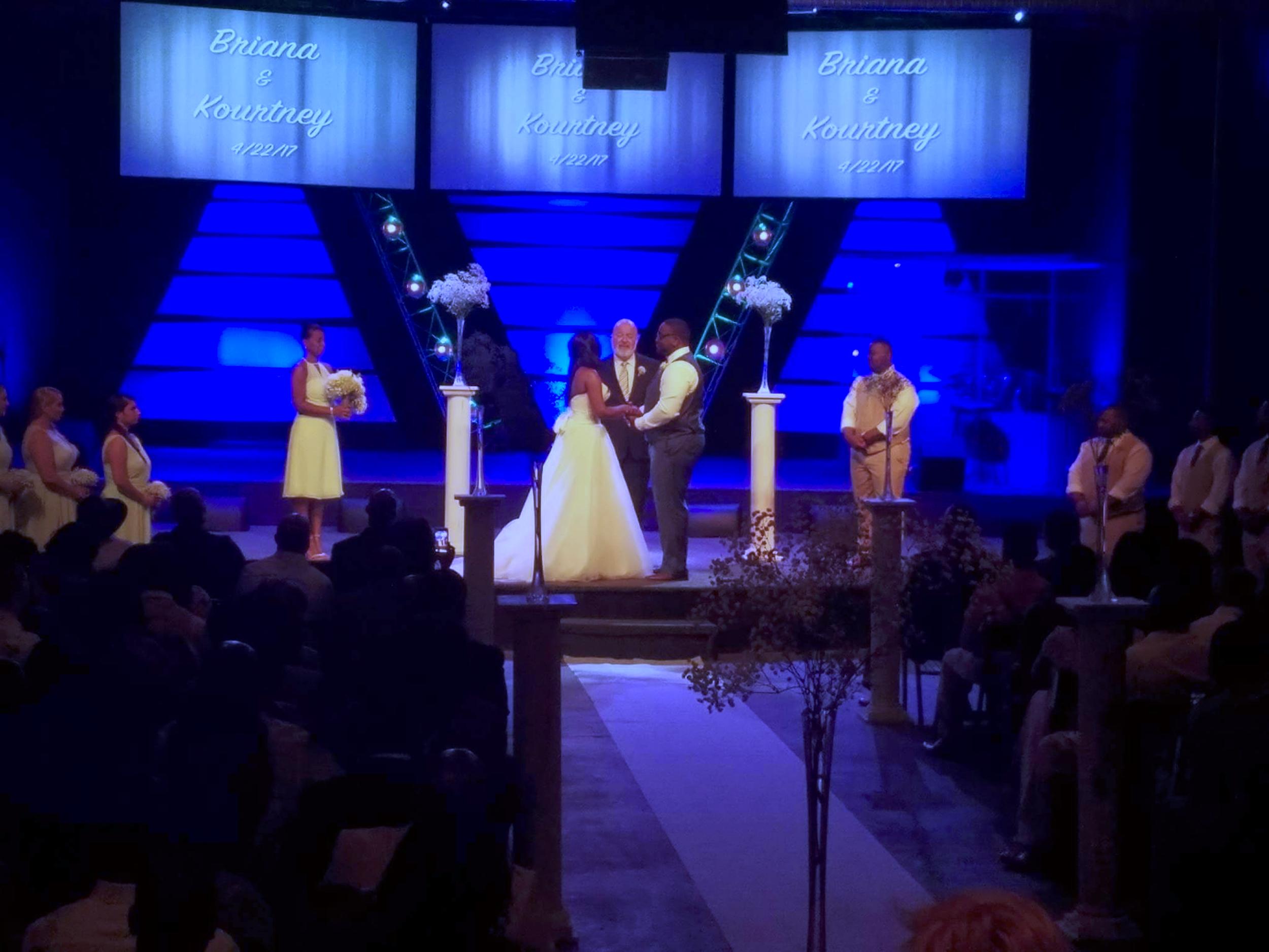 Premier Atlanta Weddings by Ray Waters at The Village Center Atlanta